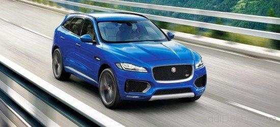 Jaguar F-Pace On Ride Image - Car Pictures, Images - GaddiDekho.com