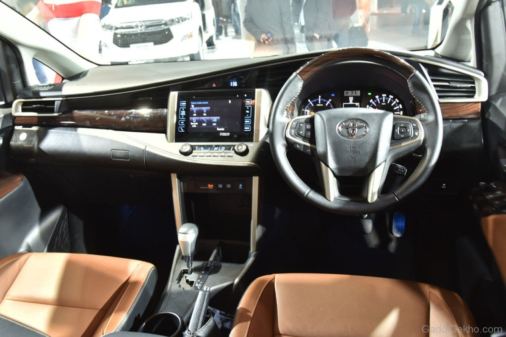 Toyota Innova Crysta Interior View - Car Pictures, Images ...