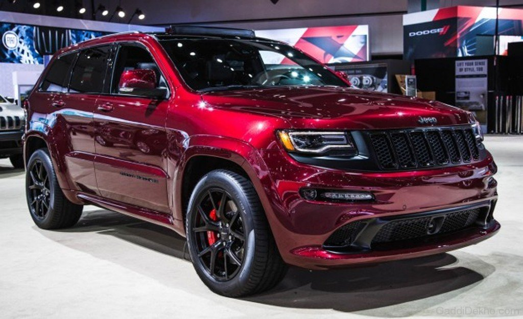 Red Jeep Grand Cherokee SRT - Car Pictures, Images ...